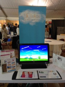 Stand Lukas au salon Aire Business Open 2012 Nemours